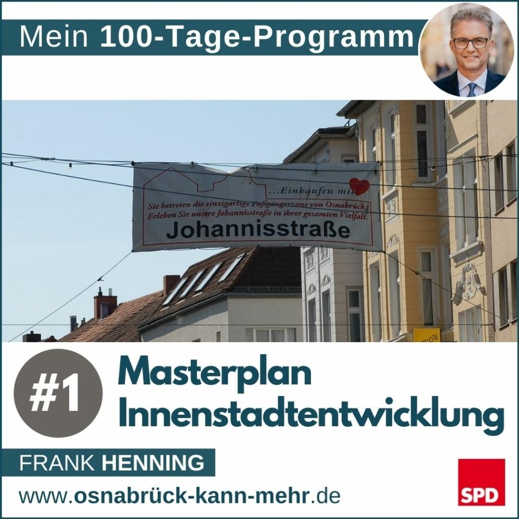#1 Masterplan Innenstadtentwicklung