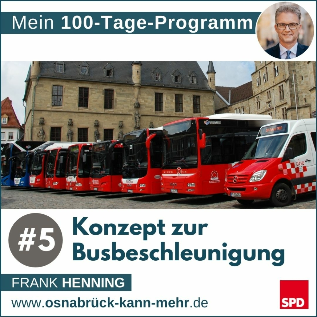 #5 Konzept zur Busbeschleunigung
