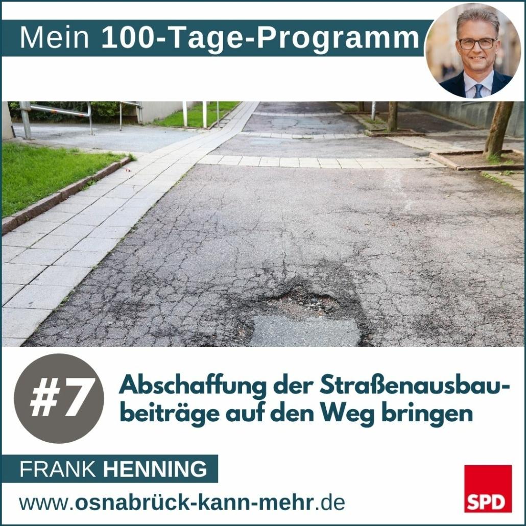 #7 Abschaffung der Straßenausbaubeiträge