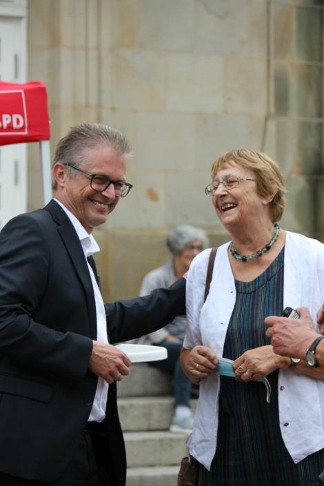 Frank Henning und Karin Jabs-Kiesler
