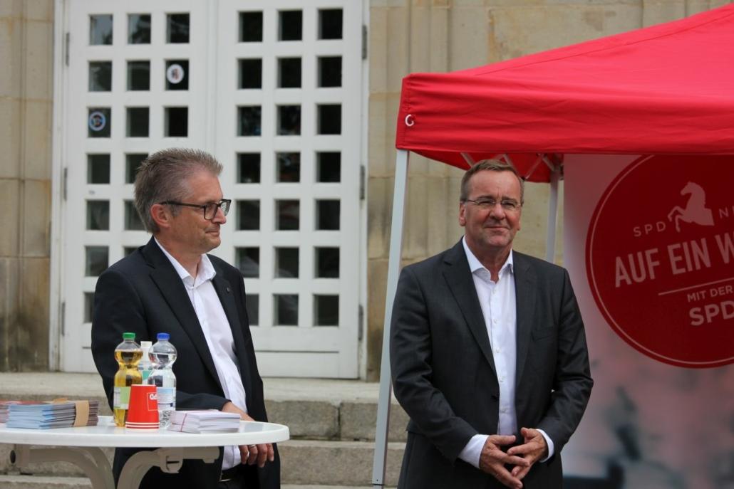 Frank Henning und Boris Pistorius